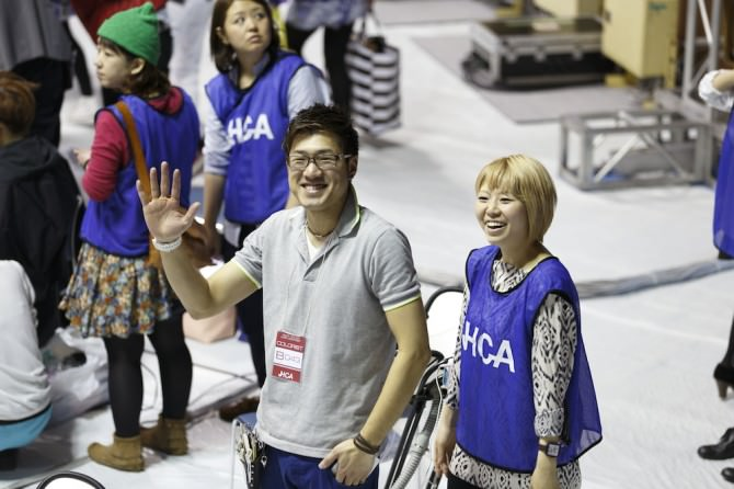 JHCA2014 東京代々木体育館