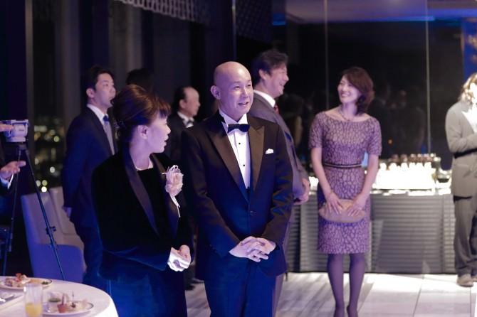 新田千鶴子氏のシュヴァリエ褒章・ナイト受章をお祝いする会