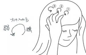 頭皮マッサージ アドバイス1